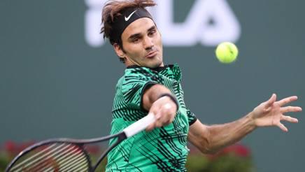 Roger Federer. Epa
