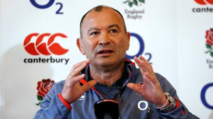 Eddie Jones, coach dell'Inghilterra LAPRESSE