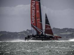 Team New Zealand vola sull'acqua