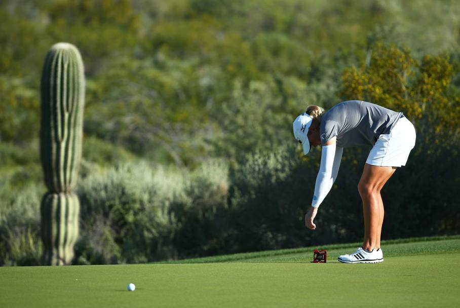 Golf tra i cactus giganti dell'Arizona (Ap)