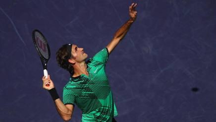 Roger Federer, 35 anni. Afp