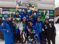 Snowboard italiano infesta