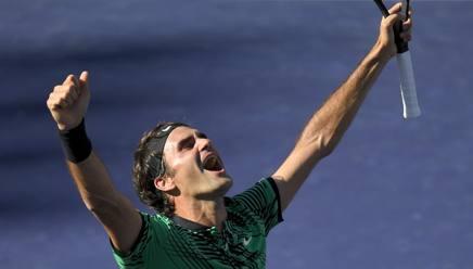 Roger Federer, 35 anni. Ap
