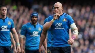 Sergio Parisse. Getty