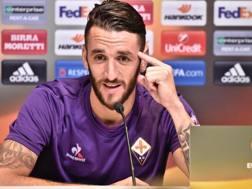 Gonzalo Javier Rodríguez, 32 anni, difensore argentino della Fiorentina. Ansa