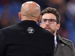 Eusebio Di Francesco, 47 anni, allenatore del Sassuolo. LaPresse