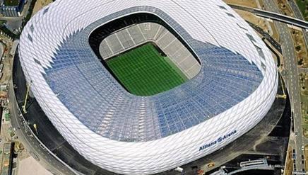 L'Allianz Arena di Monaco. Arch. Gazzetta