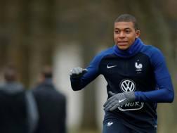 Kylian Mbappé, 18 anni e già 19 reti in stagione. Reuters