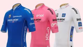 Giro d'Italia, svelate le maglie di leader