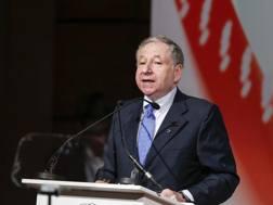 Jean Todt, presidente della Fia. LaPresse