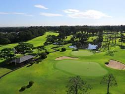 Una veduta dall'alto del Kasumigaseki Country Club. Aflo