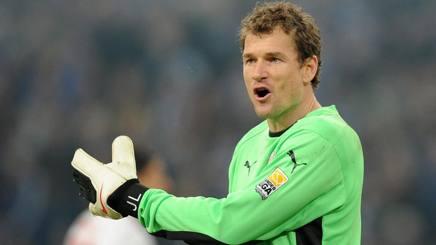 Jens Lehmann, 47 anni, ex portiere tedesco di Milan e Arsenal. Epa