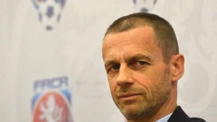 Aleksander Ceferin, presidente della UEFA. AFP