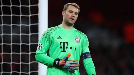 Manuel Neur, portiere del Bayern Monaco. Getty Images