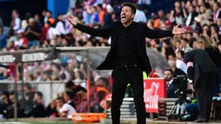 Diego Pablo Simeone. Afp