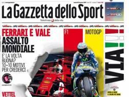 Venerdì una Grande Gazzetta dedicata a F.1 e MotoGP