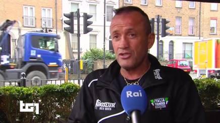 Maurizio Stecca intervistato dal Tg1