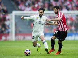 Francisco Isco, 24 anni, con la maglia del Real Madrid.