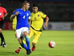 Il difensore brasiliano Lyanco, 20 anni, del San Paolo. Epa