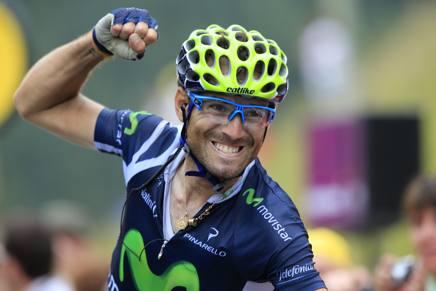 Alejandro Valverde, 36 anni. Bettini