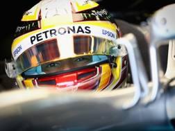 Lewis Hamilton, tre titoli iridati in F1. Getty