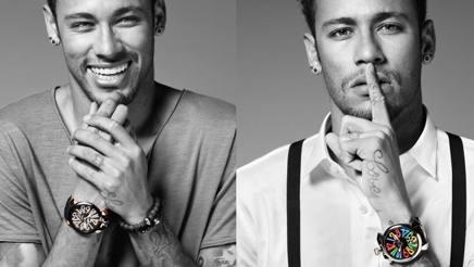 Neymar, testimonial di GaGà MIlano.