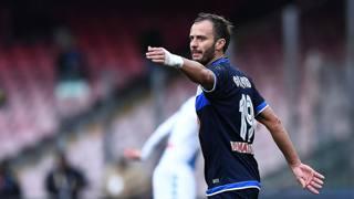 Alberto Gilardino, 34 anni, attaccante del Pescara. LaPresse