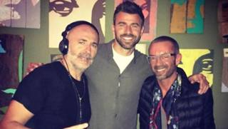Andrea Barzagli nella foto a Riccione pubblicata su Instagram