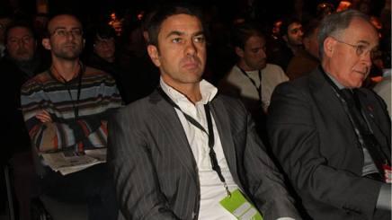 Alessandro Costacurta, 50 anni, ex difensore del Milan. Ansa