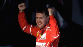 Melbourne, leone Vettel