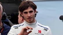 Antonio Giovinazzi, 12° al debutto in Formula1. LaPresse
