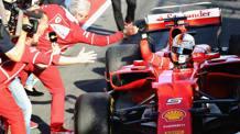 Sebastian Vettel, 29 anni. Getty