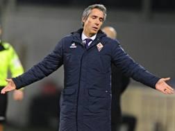 Paulo Manuel Carvalho de Sousa, 46 anni, allenatore portoghese della Fiorentina. Ansa