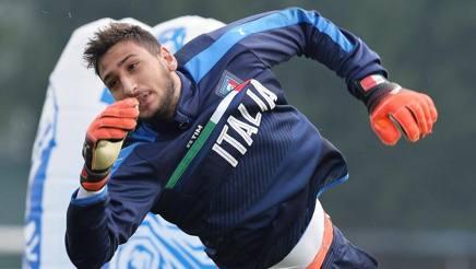 Gigio Donnarumma, portiere del Milan e della Nazionale. Ansa