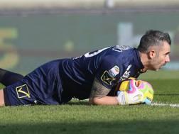 Stefano Sorrentino, 37, portiere del Chievo. Getty