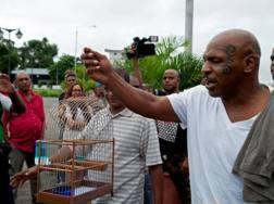 """Tyson in Suriname per la sua """"battaglia"""""""