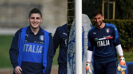 Marco Verratti e Gigio Donnarumma.
