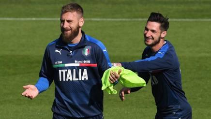 Il centrocampista della Roma e della Nazionale Daniele De Rossi, 33 anni. Getty