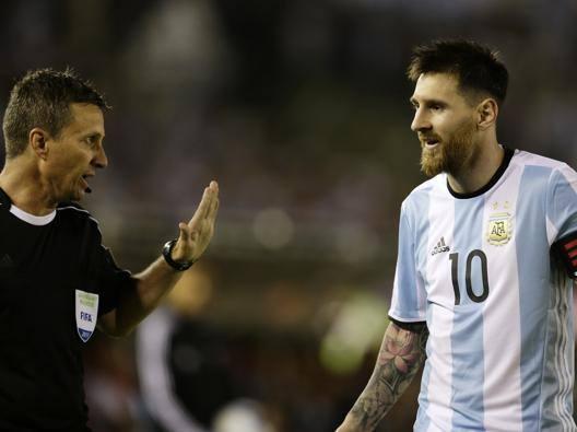 Lionel Messi, 29 anni. Ap
