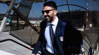 Gigi Buffon in Nazionale. Getty