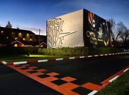 La sede della MV Agusta