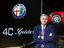 L'amministratore delegato dell'Alfa Romeo Heinz Harald Wester