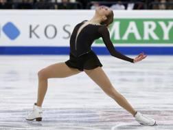 Carolina Kostner a Helsinki. Reuters