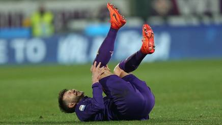 Federico Bernardeschi combatte con una distorsione alla caviglia dalla gara del 12 febbraio contro l'Udinese. Getty Images