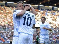 Ciro Immobile, autore del pareggio laziale: 18° gol in campionato. Getty
