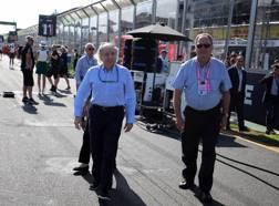 Jean Todt, 71 anni, presidente della Fia dal 2009, durante il GP d'Australia LAPRESSE