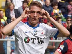 Andrea Conti, 23 anni, centrocampista dell'Atalanta. LaPresse