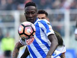 Mamadou Coulibaly, 18 anni, centrocampista del Pescara. Getty Images