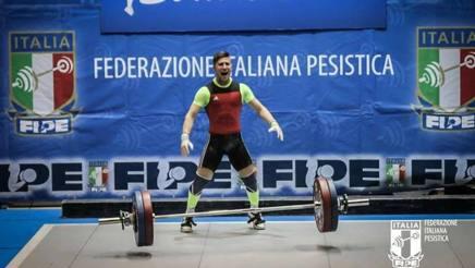 Il nisseno Scarantino si conferma campione europeo di sollevamento pesi