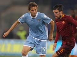 Senad Lulic, centrocampista bosniaco della Lazio. Getty